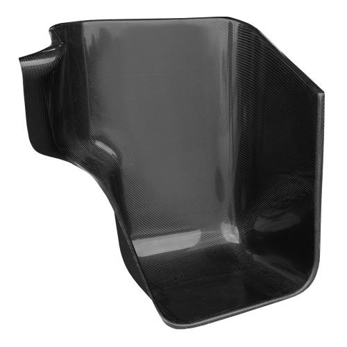 Carbon Fiber Wraparound Seat, Extra Wide