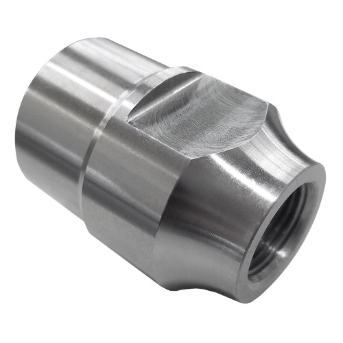 "3/4""-16 RH x 1-1/2"" .065"" Tube Adapter, Short Style, Load Cell, 1-1/4"" Wrench Flats"