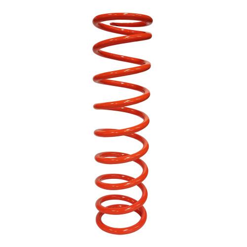 "8"" x 2.5"" x 125 Lb PAC Racing Spring, Orange"