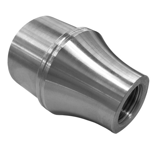 """5/8""""-18 LH x 1-1/2"""" .065"""" Tube Adapter, Long Style"""