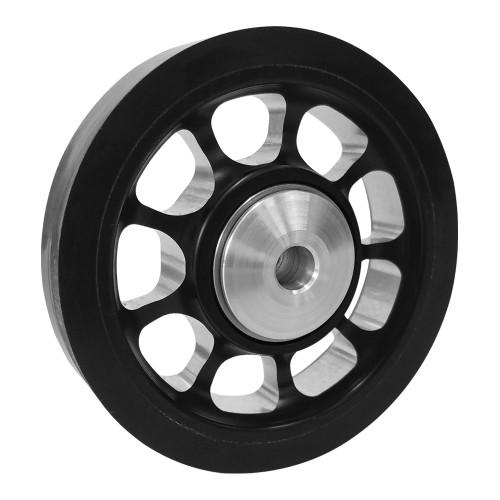 """RJ-219707-8 Pro Billet Wheelie Bar Wheel, 1-1/4"""" Hub Width"""