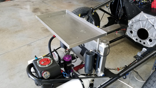 Radiator tool tray included