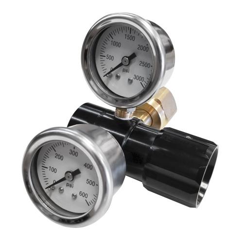 RJ-219538 Adjustable Air Bottle Regulator, 0-400 PSI