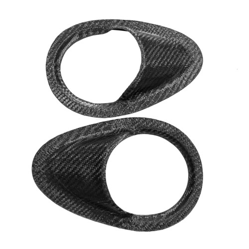 "Carbon Fiber Side Window NACA Ducts, 4"" I.D."