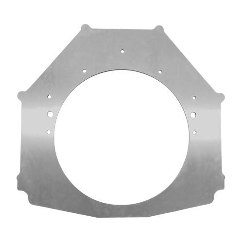 "Big Block Chevy Pro Mod Double Frame Rail Midplate, 14-1/2"" Center Hole"