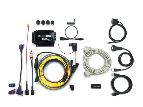 Racepak V300SD Data Logger Motorcycle Kit, Easy Access
