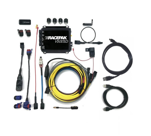 Racepak V500SD Data Logger Universal Kit, Serialized