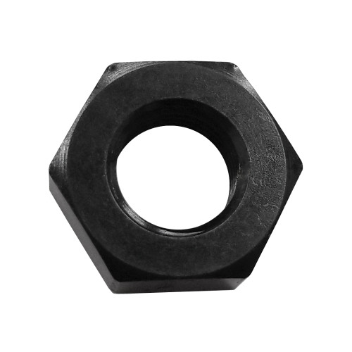 -3 AN Bulkhead Nut, Aluminum, Black