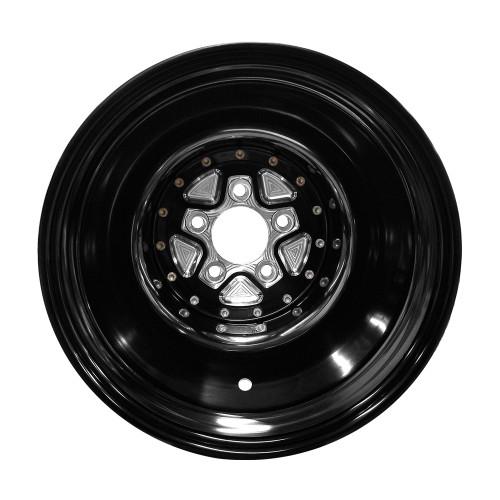 """AlumaStar Pro Liner, 16"""" x 16"""", 5"""" x 5"""", 5"""" BS, Black Center, Black Shell"""