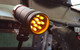 AutoMeter Shift Light, 12 Amber LED, Pedestal, Black, Super-Lite - Installed