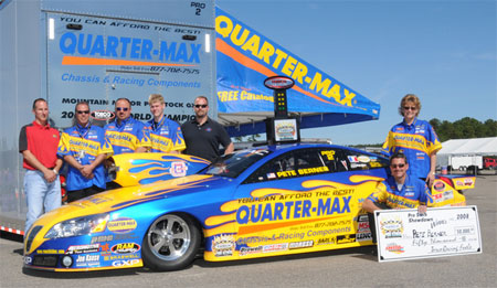 Pete Berner 2008 IHRA Pro Stock World Champion
