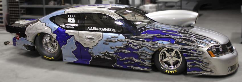 Allen Johnson 2010 Dodge Avenger NHRA Pro Stock