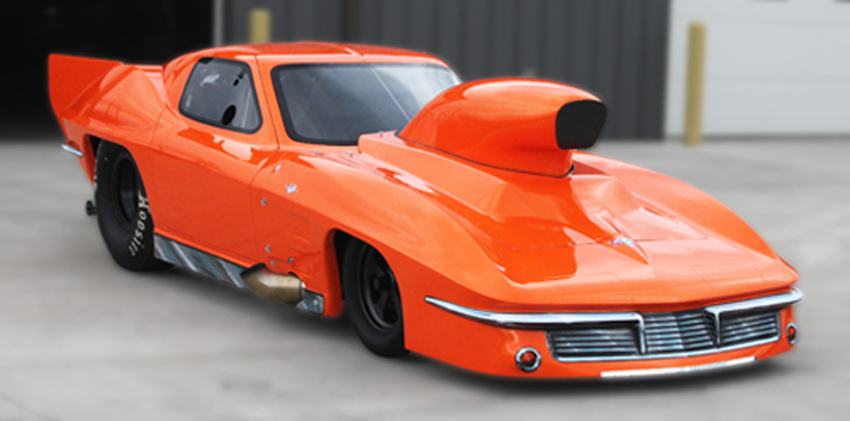 Jimmy Keen 1963 Corvette Pro Nitrous