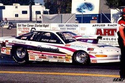 Floyd Cheek 1997 IHRA Pro Stock World Champion