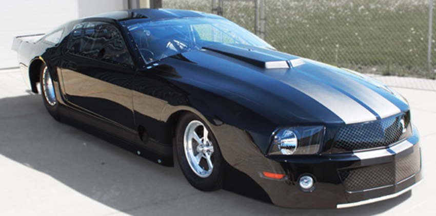 Brad Brand Ford Mustang Xtreme 10.5 Turbo