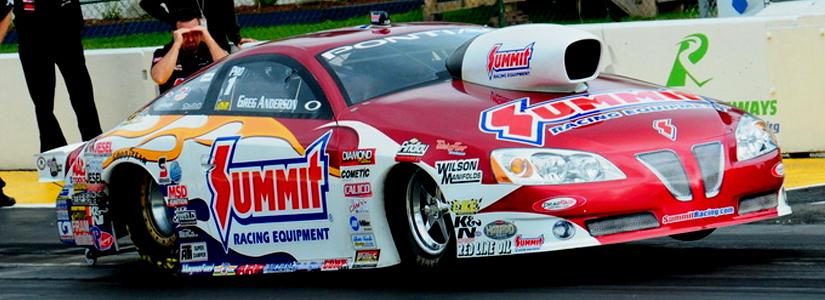 Greg Anderson 2010 Pontiac GXP NHRA Pro Stock