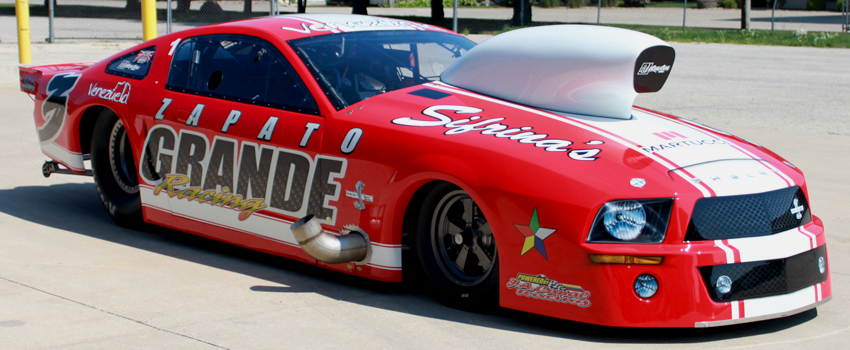 Danilo Nammour 2007 Ford Mustang Pro Street