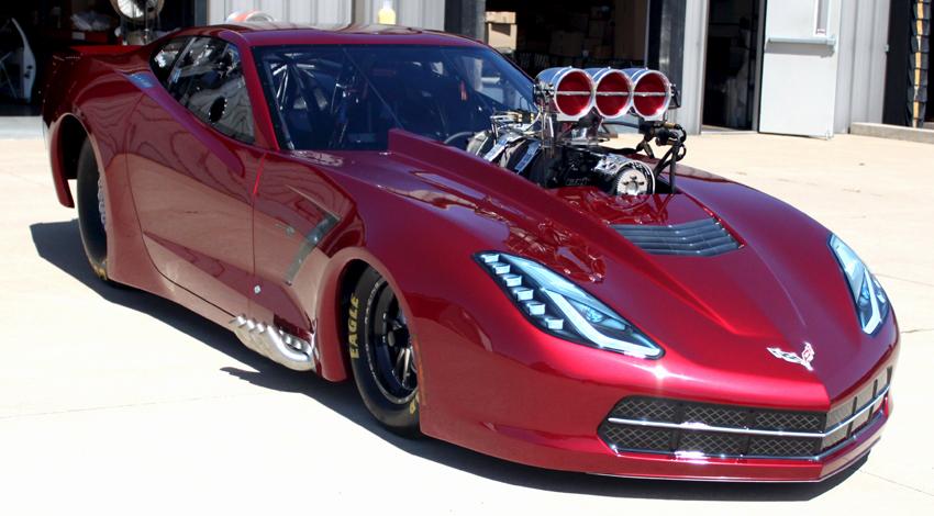 Dave Kowalski 2015 Corvette Top Sportsman