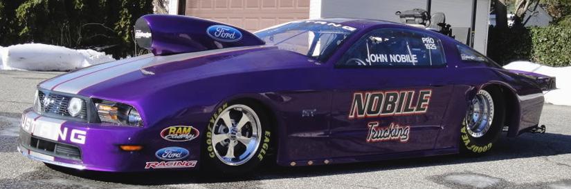 John Nobile 2010 Ford Mustang NHRA Pro Stock