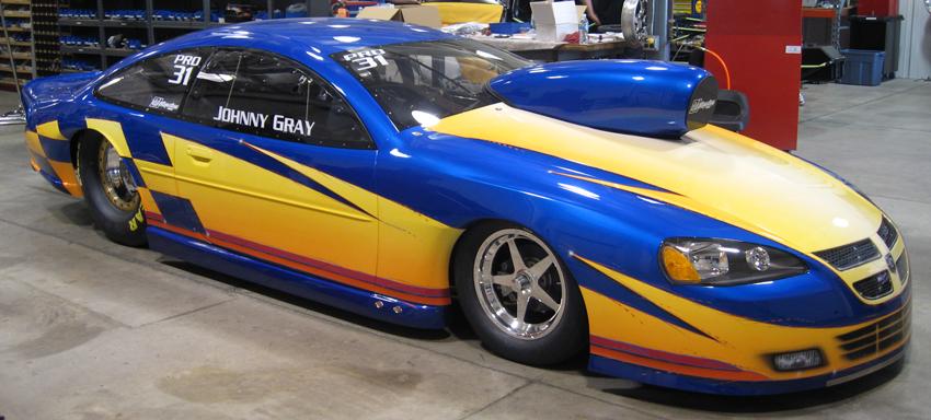 Johnny Gray 2008 Dodge Stratus NHRA Pro Stock