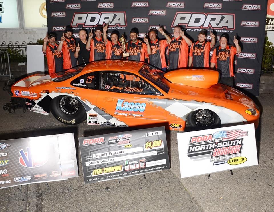 Johnny Pluchino 2019 PDRA Pro Outlaw 632 World Champion
