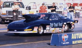 Jon Yoak 1996 IHRA Pro Stock World Champion