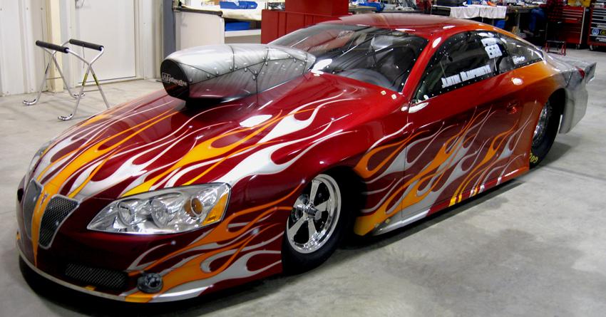 Justin Humphreys 2008 Pontiac GXP NHRA Pro Stock