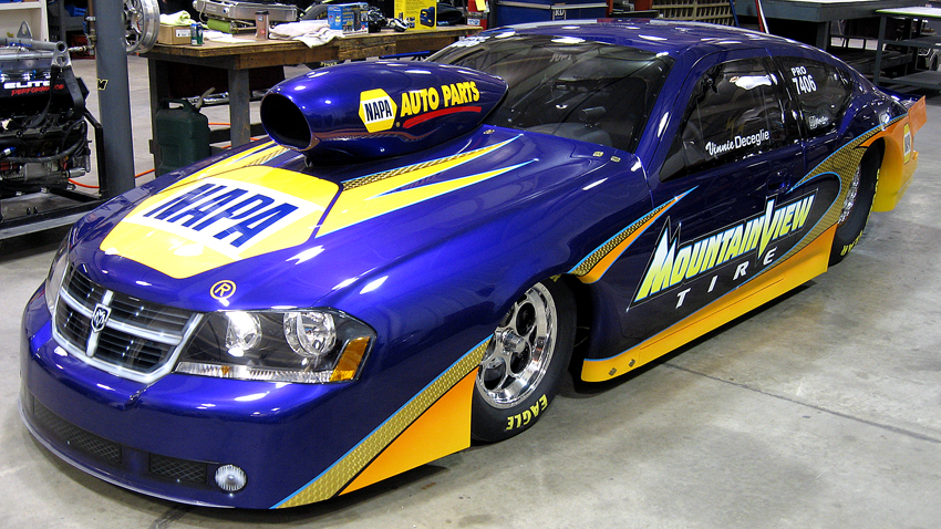 Nick Mitsos 2010 Dodge Avenger Pro Stock