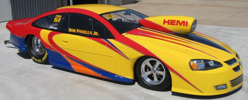 Bob Panella Jr. 2008 Dodge Stratus NHRA Pro Stock
