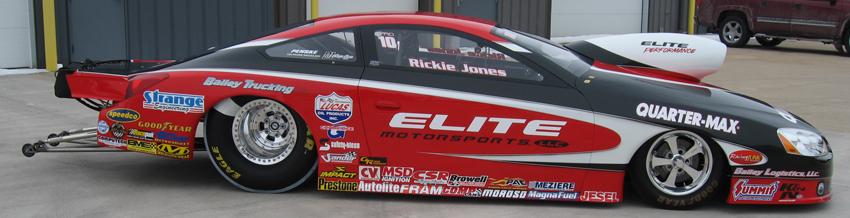 Richard Freeman 2010 Pontiac GXP NHRA Pro Stock