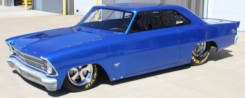Cecil Hankins 1967 Chevy SS II Top Sportsman