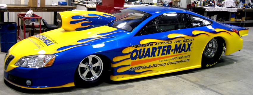 Pete Berner 2008 Pontiac GXP IHRA Pro Stock