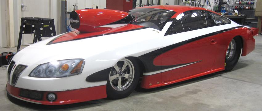 Richard Freeman 2009 Pontiac GXP IHRA Pro Stock