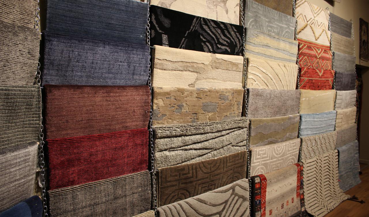 Modern design rugs image.