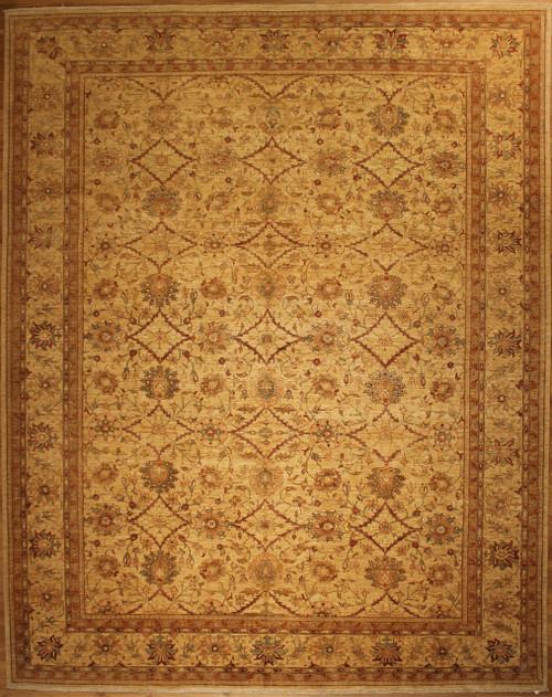 Overall design rug 9'10 X 12'5