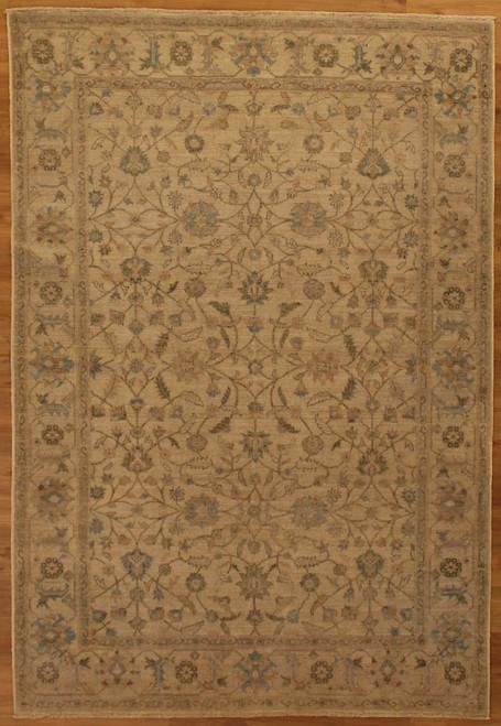 "5'11"" X 8'8"" Neutral color rug"
