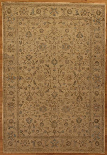 "5'11"" X 8'8"" Neutral color rug"