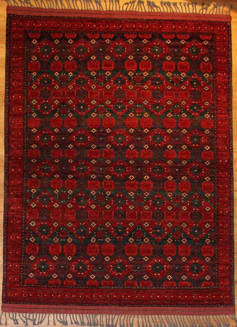 "5' X 6'5"" Afghan Tribal"