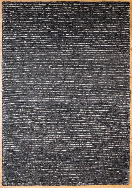 dark modern design rug made in India