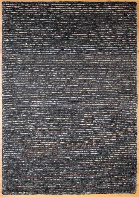 dark modern design rug made in India