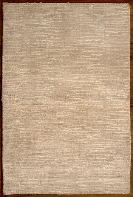 modern white rug made in India
