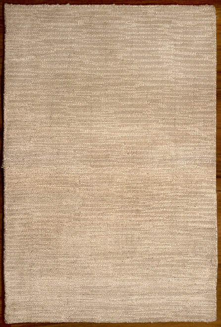 modern white rug made in India