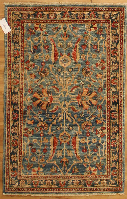 Afghan transitional design rug