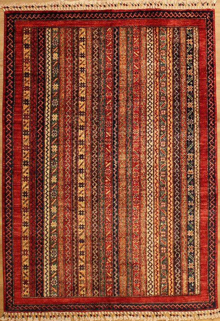 multi-color transitional rug