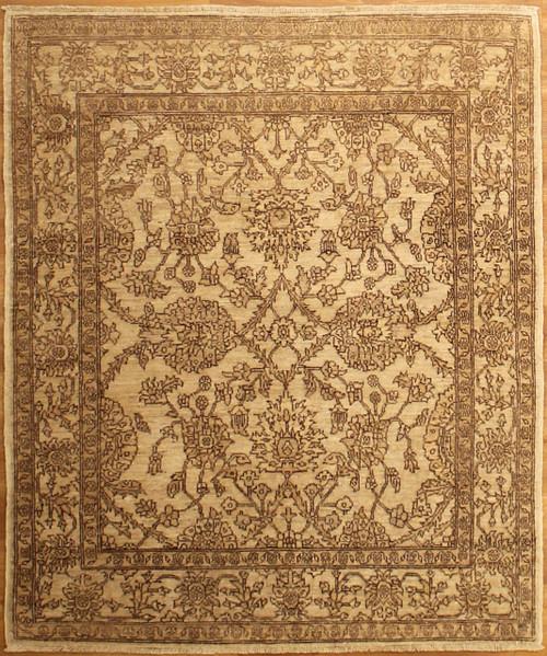 Afghan beige rug