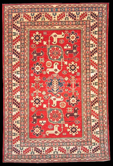 4 x 6 Hand knotted rug