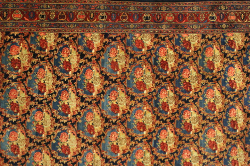 "10'11"" X 18 Antique Persian Bijar"