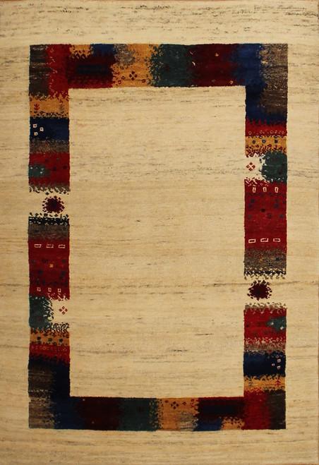 4' x 5'11 Lori Gabbeh design rug