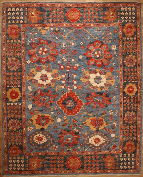 8'2 x10'1 Overall design rug