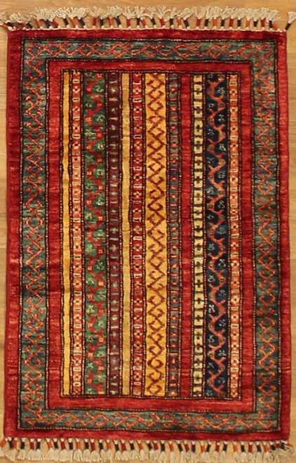 2' x 3' Tribal design Rug